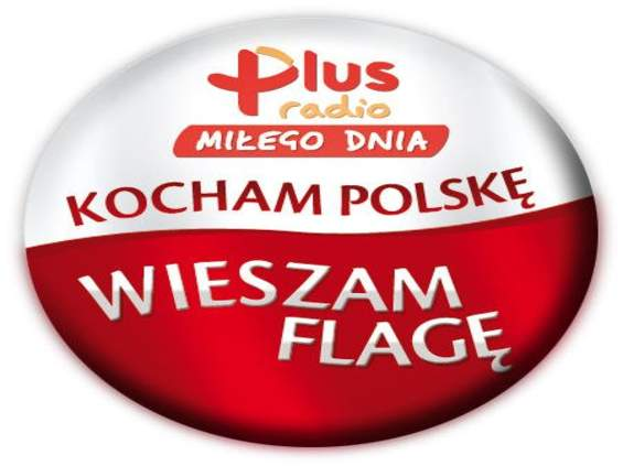 Radio Plus rozdaje polskie flagi