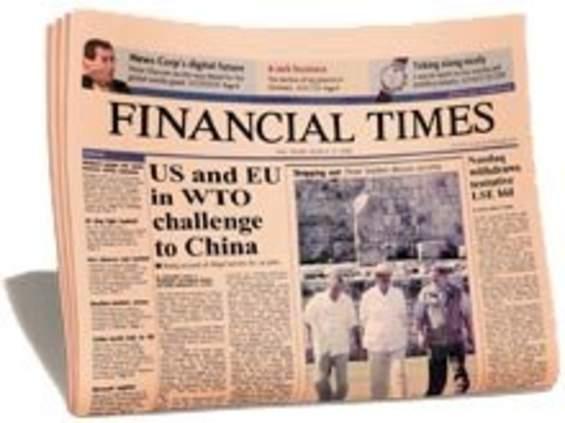 """""""The Financial Times"""" odnotował blisko 200 tys. ściągnięć"""