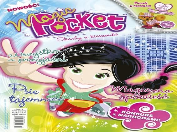 """""""Magic Pocket"""" - nowe pismo dla dziewczynek"""
