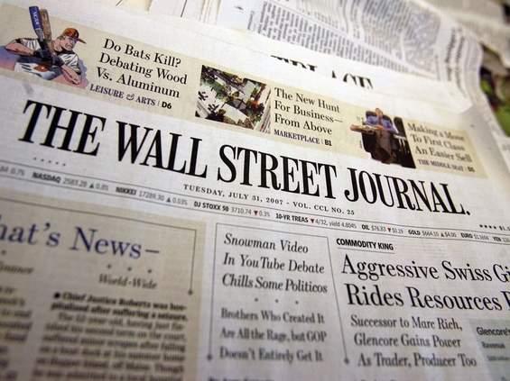 """Odchodzi wydawca """"The Wall Street Journal"""""""