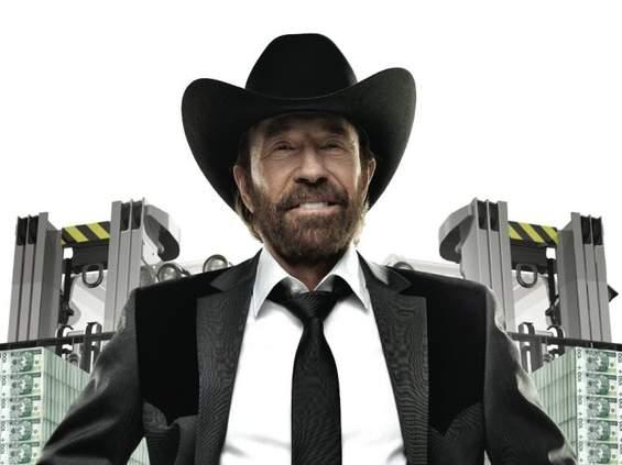 Chuck Norris wykopie Manna i Maternę?