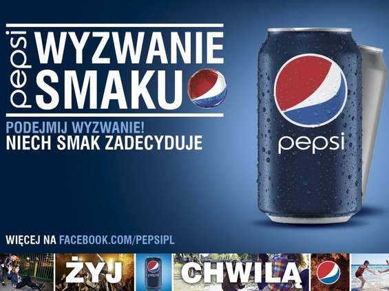 Pepsi smakuje lepiej?