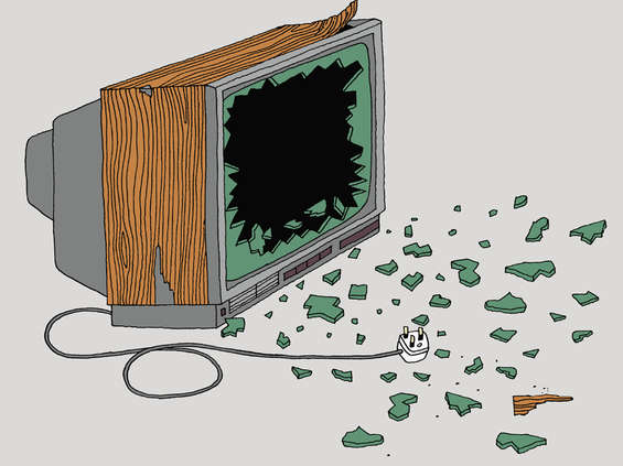 Koniec polityki miłości w telewizji