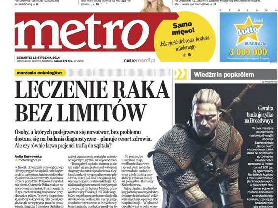 """Metro"" stawia na targetowanie"