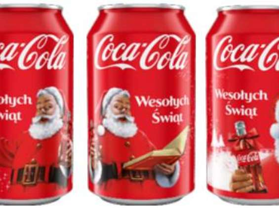 Coca-Cola w święta jeździ i rozdaje