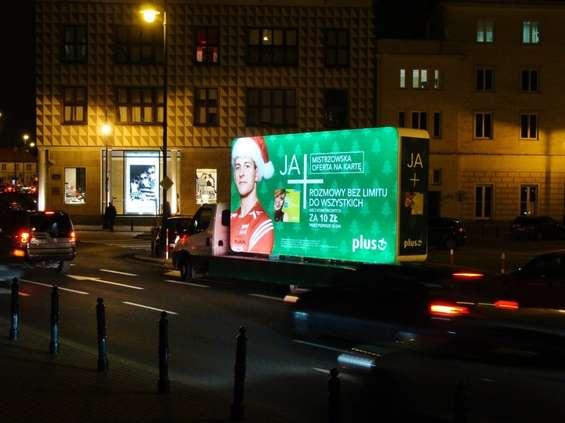 Mobilna akcja PLUSA w dużych miastach
