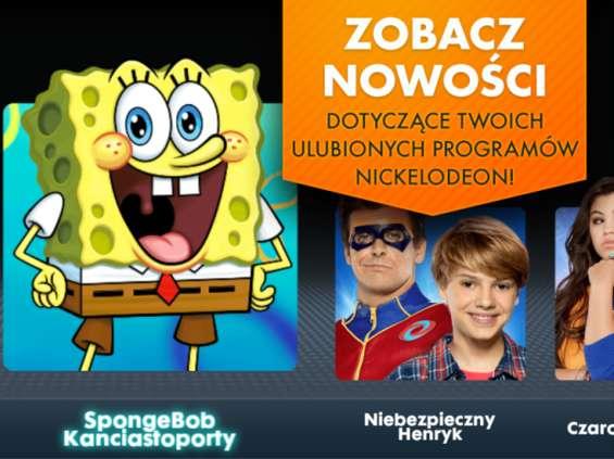 Nowa aplikacja Nickelodeon Play