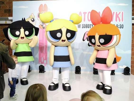 Gwiazdy z dziećmi na imprezie Cartoon Network  i Boomerang
