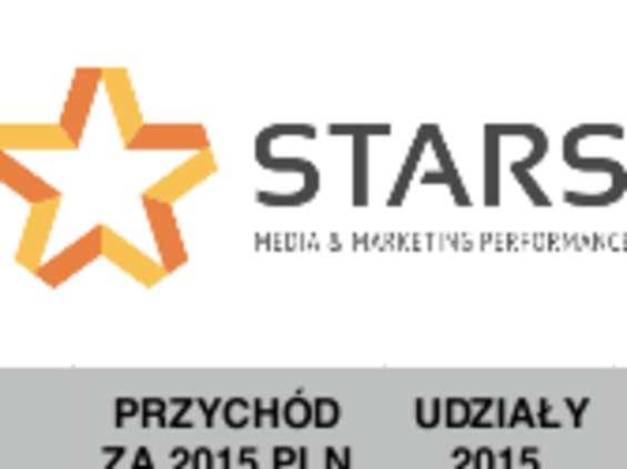 MediaCom liderem we wstępnym raporcie Stars za 2015 r.