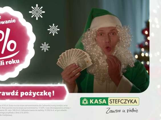 """""""Zielone Mikołaje"""" od Kasy Stefczyka (SKOK)"""