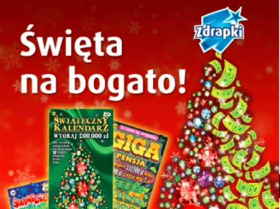 Na Święta, Nowy Rok i na każdą okazję Zdrapki Totalizatora Sportowego są świetnym dodatkiem do każdego prezentu.