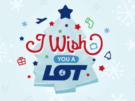 """I wish you a LOT"" - nowa kampania PLL LOT"