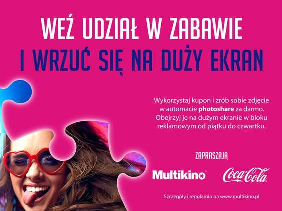 Multikino i Coca-Cola we wspólnej akcji