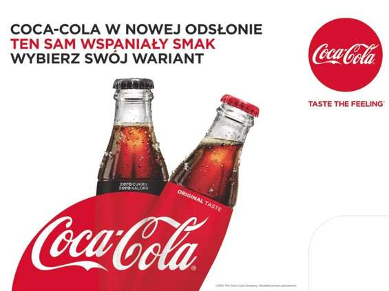 """Coca-Cola ma opakowania """"One brand"""""""