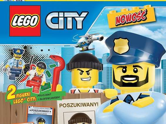 "Media Service Zawada wprowadza magazyn ""Lego City"""