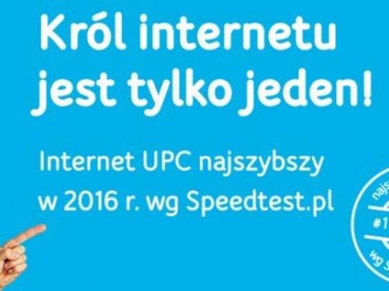 """UPC: """"Król internetu jest tylko jeden"""""""