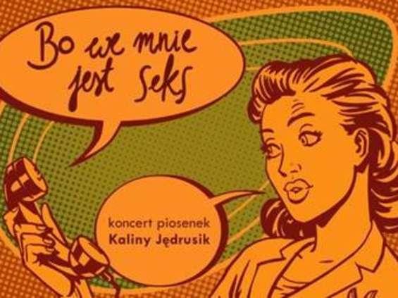 """""""Bo we mnie jest seks"""", czyli młode wokalistki śpiewają Kalinę Jędrusik w Studiu Piosenki Teatru Polskiego Radia."""