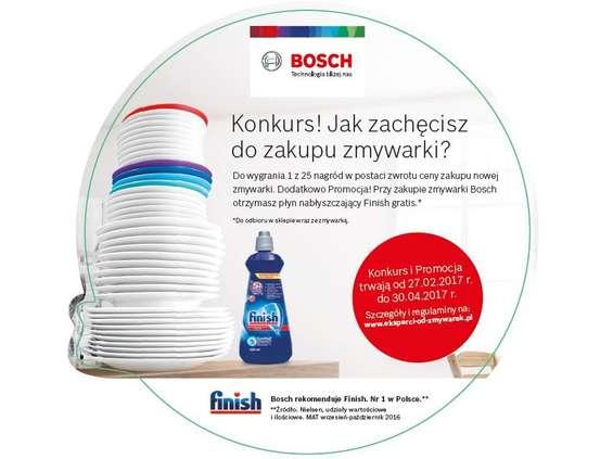 Bosch startuje z wiosenną kampanią zmywarek