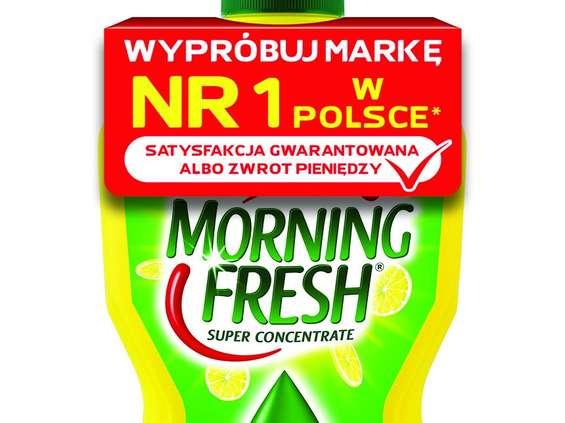 """Morning Fresh rusza z akcją """"satysfakcja lub zwrot pieniędzy"""""""