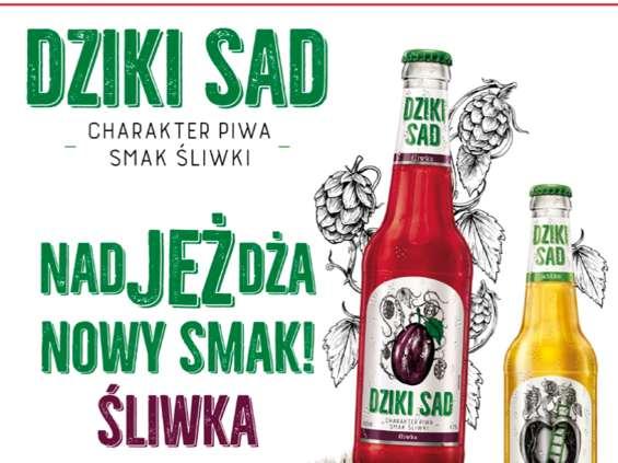Grupa Żywiec poszerza markę miksów piwnych Dziki Sad