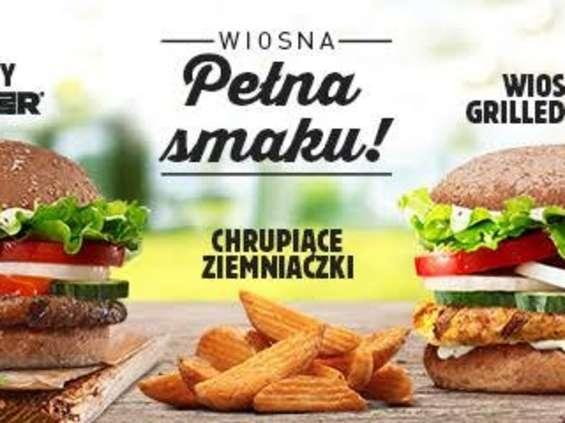 Burger King promuje wiosenne nowości