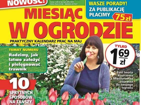 """""""Miesiąc w Ogrodzie"""" - nowy miesięcznik ogrodniczy Bauera"""
