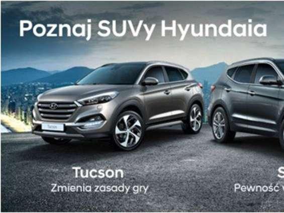 Hyundai promuje swoje SUV-y w ofercie leasingu
