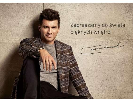 Tomasz Kammel reklamuje podłogi Swiss Krono