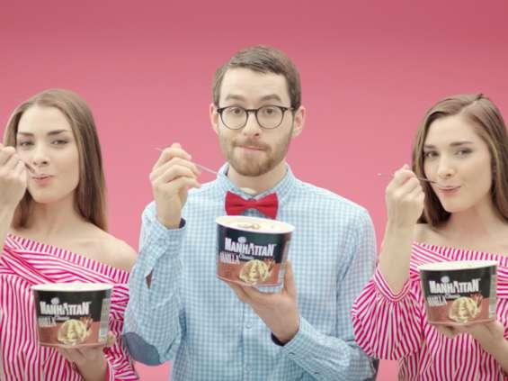 MEC Wavemaker autorem kampanii marki lodów Manhattan