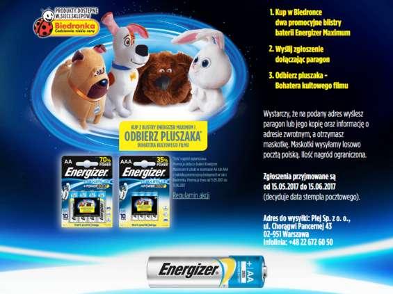 15 maja wystartowały dwie promocje konsumenckie Energizer