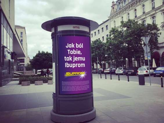 Polskie przysłowia w nowej kampanii OOH Ibupromu