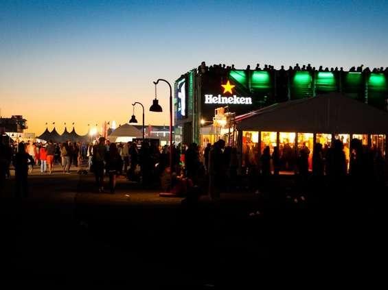 Heineken rządzi na festiwalach