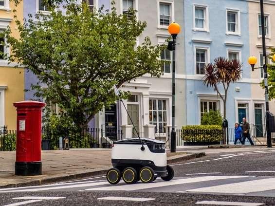 Zakupy z Tesco dostarczy robot
