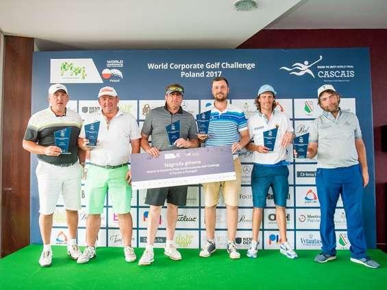 Turniej golfowy Plej WCGC Poland 2017 wyłonił reprezentację Polski na finał World Corporate Golf Challenge w portugalskim Cascais