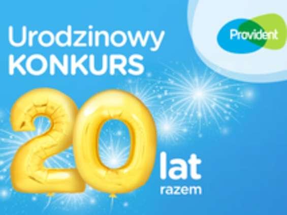 800 tys. zł i kampania na 20-lecie Providenta