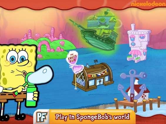 Nickelodeon Polska wprowadza aplikację Sponge Master
