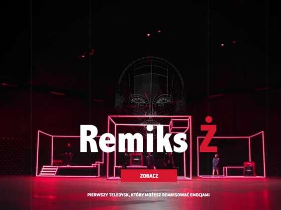 """""""Remiks Ż"""" - interaktywny teledysk promuje Męskie Granie"""