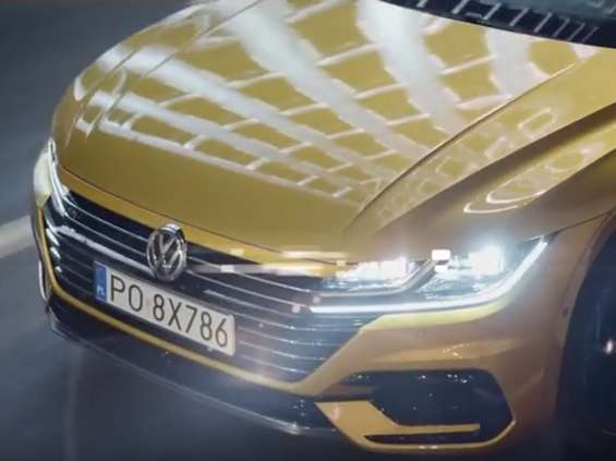 Volkswagen reklamuje nowego Arteona [wideo]