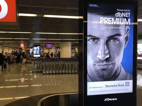 Nowe nośniki reklam na Lotnisku Chopina