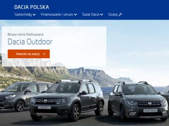 Dacia odświeża serwis WWW