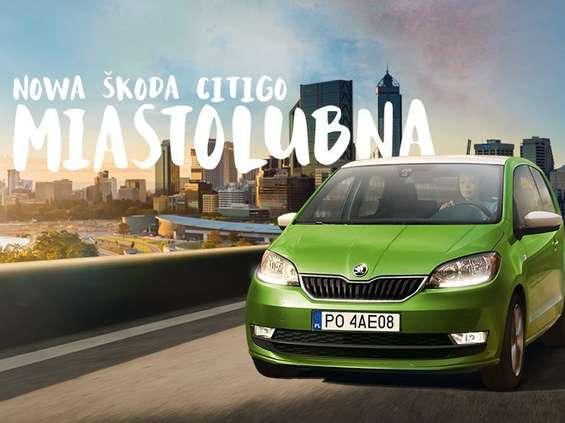 """Skoda reklamuje odświeżony model Citigo hasłem: """"Miastolubna"""""""