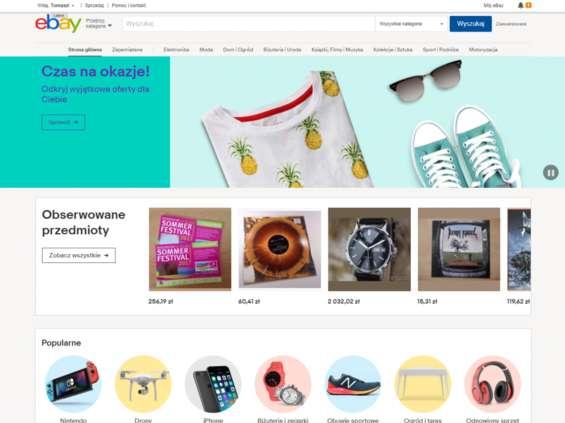 eBay ma nową stronę, także po polsku