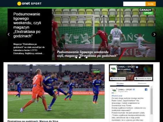 Onet-RASP i NC+ tworzą nowy serwis sportowy