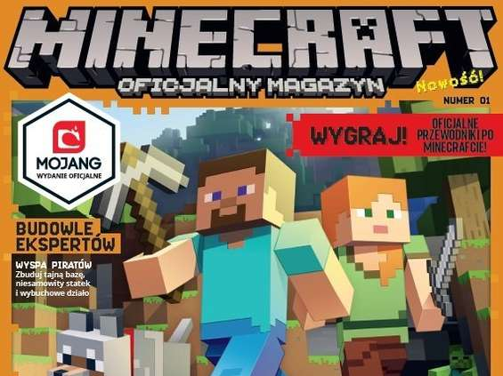 "Nowe magazyny Egmontu: ""Minecraft"" i ""DC SuperHero Girls"""