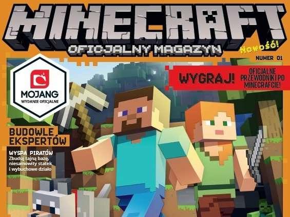 """Nowe magazyny Egmontu: """"Minecraft"""" i """"DC SuperHero Girls"""""""