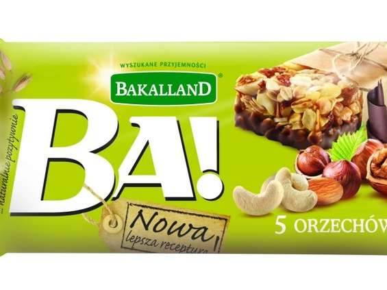 Nowa receptura batonów Bakalland BA!