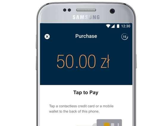 Terminal płatniczy w smartfonie