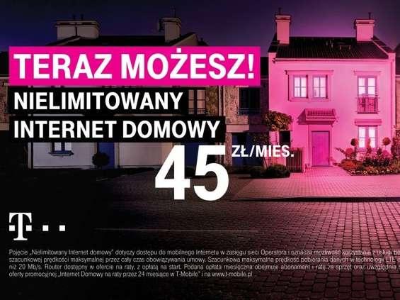 T-Mobile oferuje Nielimitowany Internet Domowy [wideo]