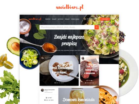 Serwis Uwielbiam.pl prezentuje się w nowej odsłonie