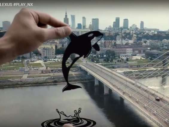 Lexus stworzył w Warszawie spot na rynek japoński